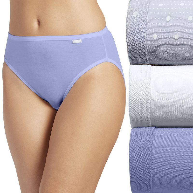 1f627230fb93 Jockey Elance 3-pk. Super Soft French Cut Panties 2071 - Women's, Size: 9,  Yellow