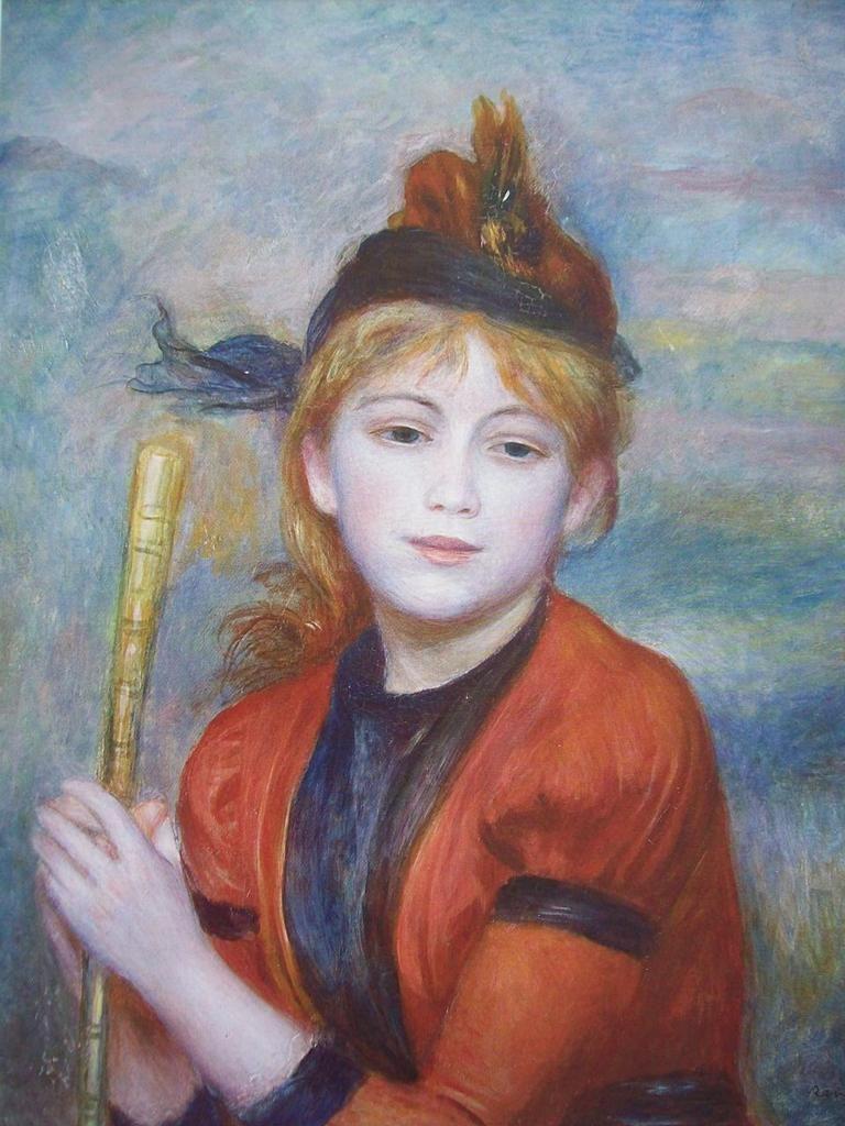 Pierre-Auguste Renoir (1841-1919) - La randonneuse - 1888 - Musée d'art moderne André Malraux - Le Havre