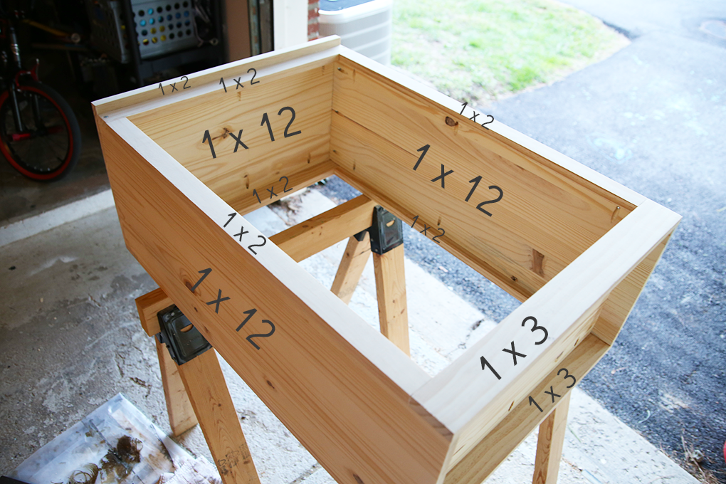 How To Build A Custom Tilt Out Trash Cabinet Kitchen