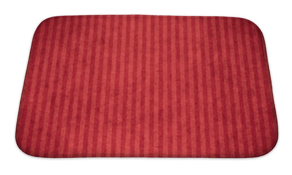 Bath Mat Red Abstract Paper Abstract Paper Bath Mat Memory Foam
