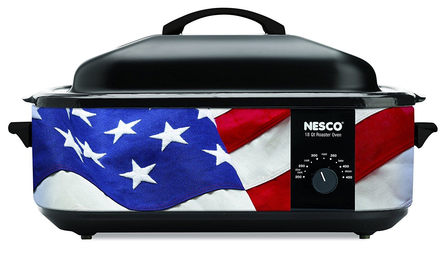 Nesco American Harvest 4818-76 Patriotic Roaster Oven, 18 quart, Red/White/Blue * A special product just for you. See it now! : Garden cart
