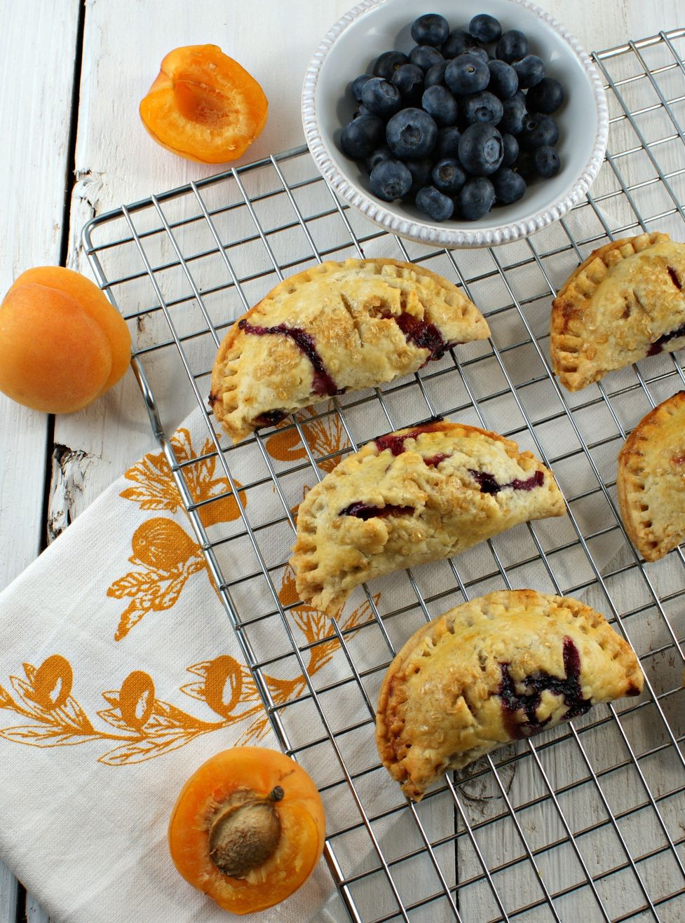 Apricot, Blueberry and Cardamom Hand Pies @Lisa |Authentic Suburban Gourmet