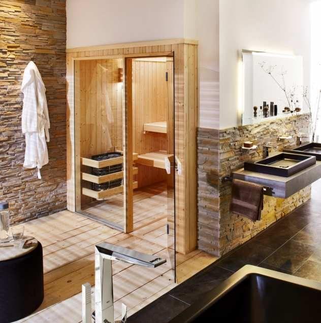 Saunakabine Visage Im Bad Von Helo Sauna Badezimmer Mit Sauna Badezimmer Gestalten Spa Design