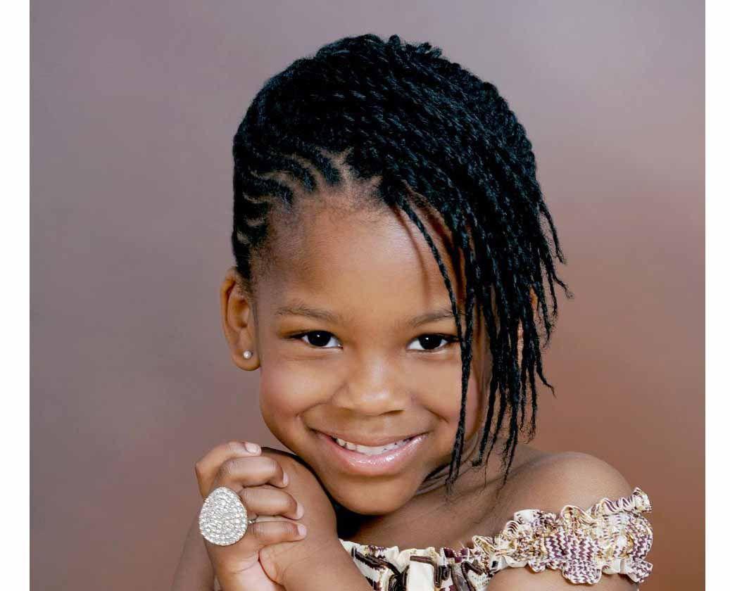 Little Black Girl Hairstyles Madchen Geflochtene Frisuren
