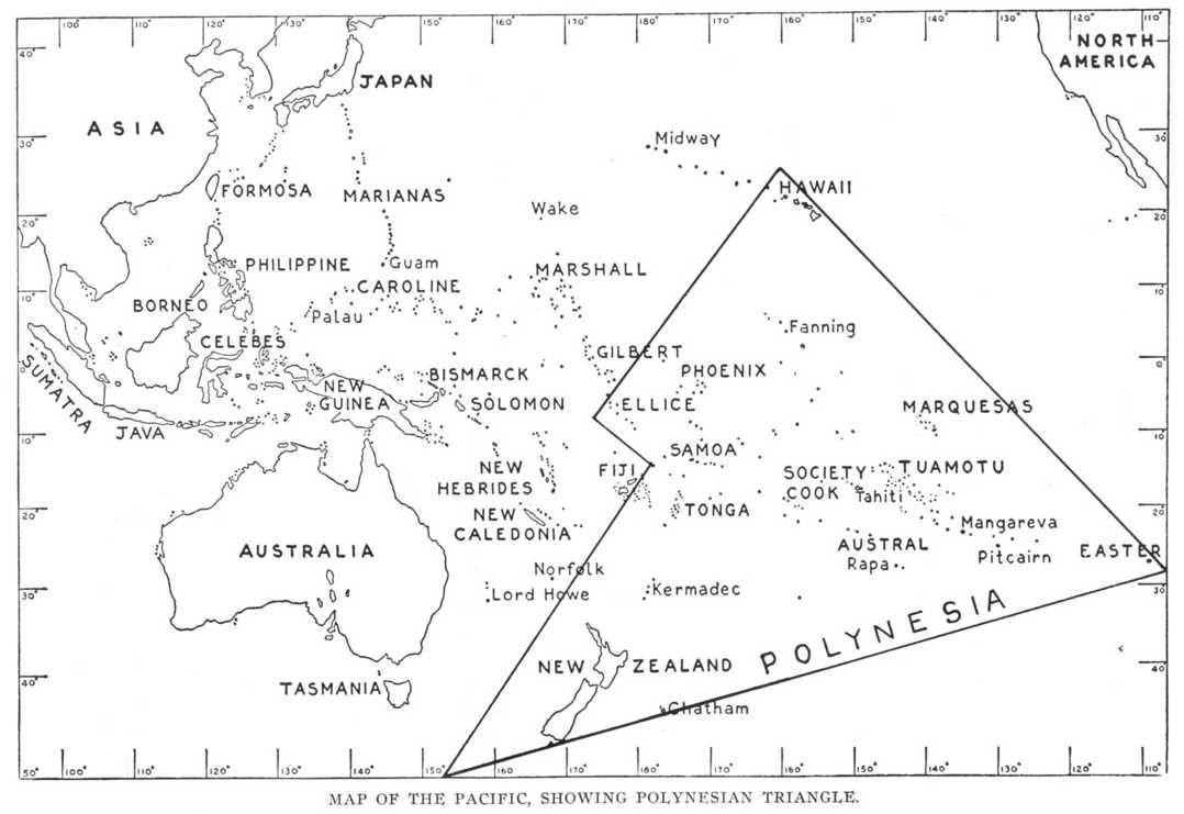 Eastern Hemisphere Polynesian Map Tråvel Pinterest - Polynesian migration map oceania