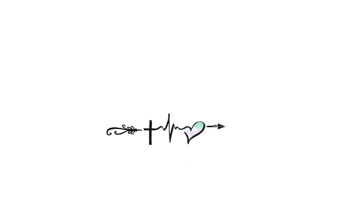 Faith, Hope & Love with s beginning and an end.