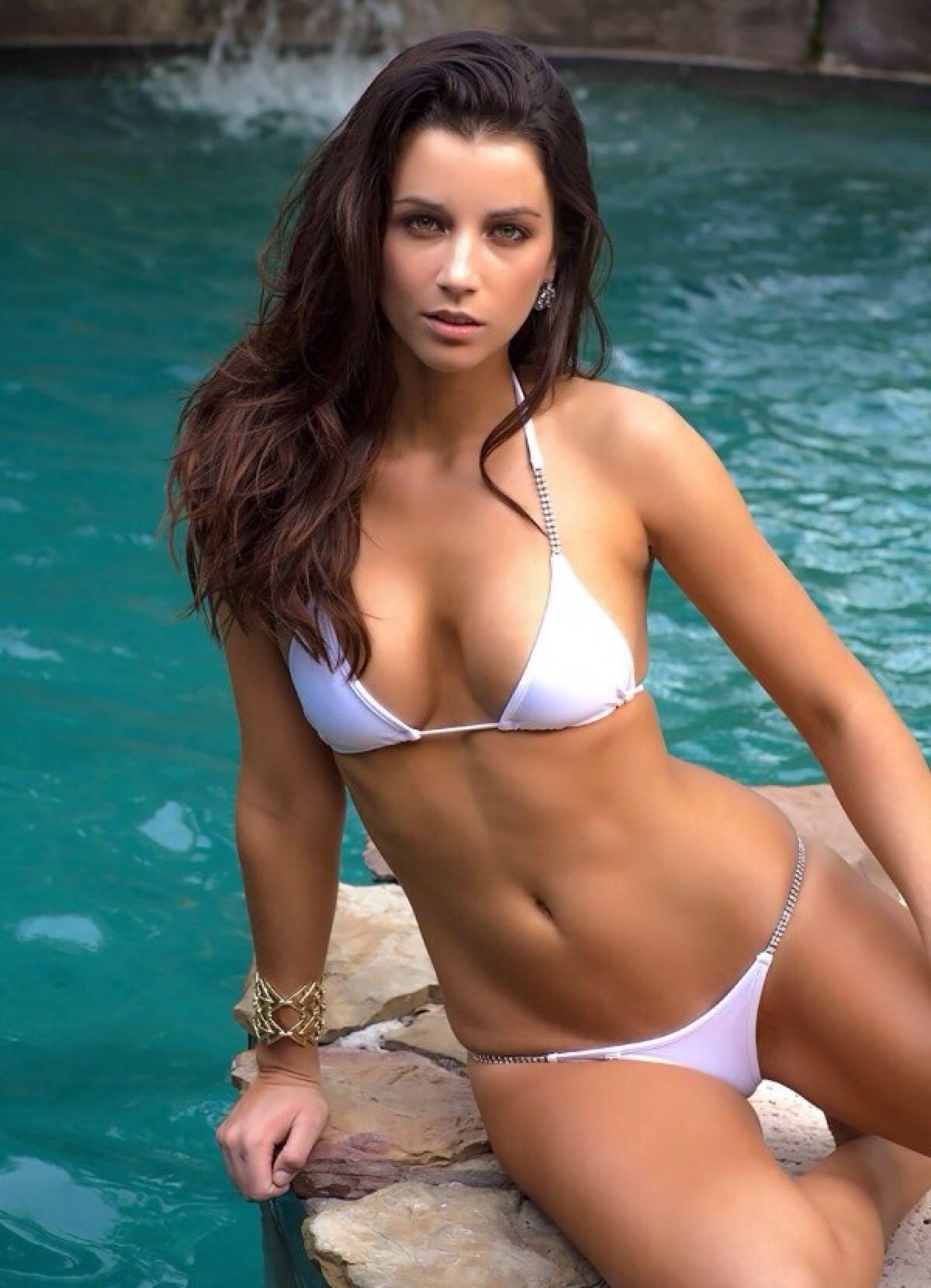 trip swim bikini boat Bay girl