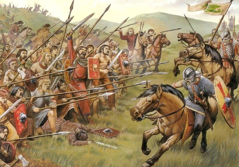 Pin By Adam Kennington On Battles Pictish Warrior Celtic Warriors Ancient Warfare