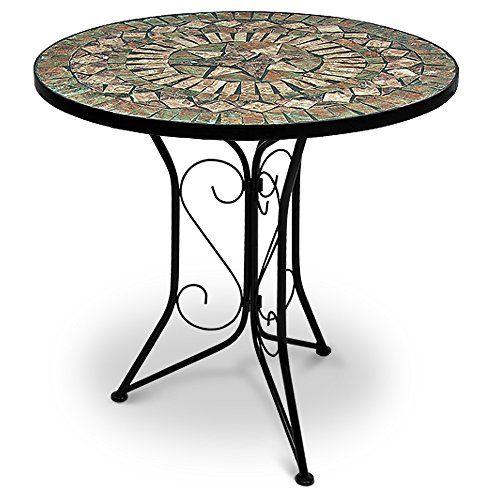 Table Mosaique Ronde Style Salon Marocain Top Deco Interieur ...