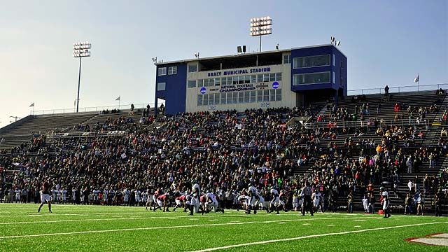 Braly Municipal Stadium Home Of The Division Ii Football Championship Soccer Field Stadium Football