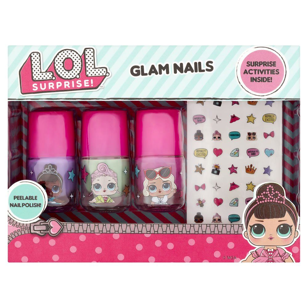 Lol Surprise Glam Nails Gift Set With Images Glam Nails