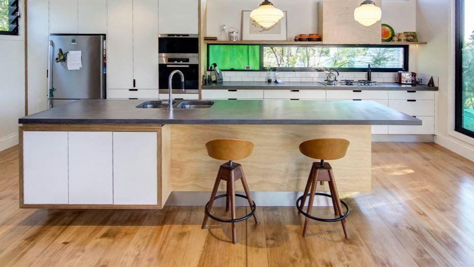 Concrete benchtop pop concrete custom design benchtops