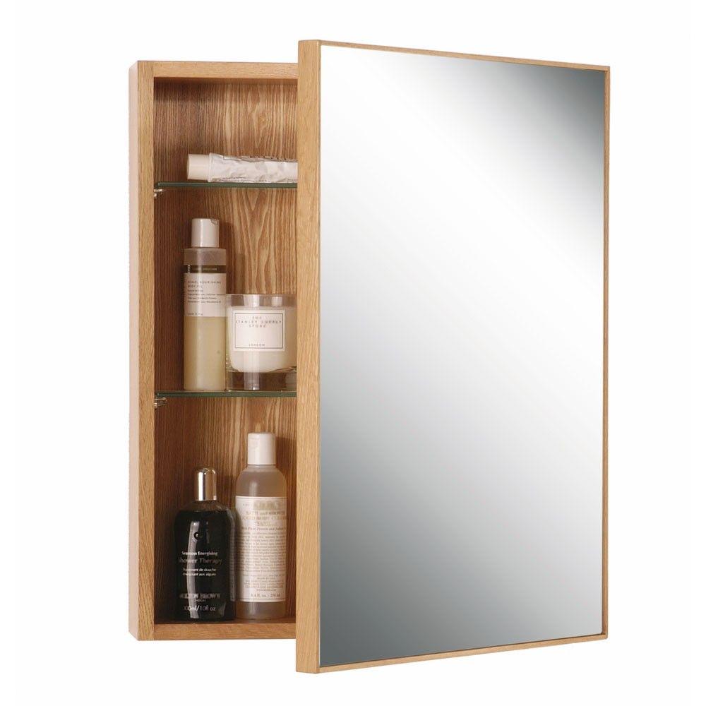 Wireworks Slimline Cabinet 550 | Glass shelves, Minimalist and White oak