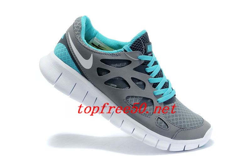 new product 541db 444ca ... get g3k63q cool grey white anthracite chlorine blue nike free run 2  womens running shoes 9be22