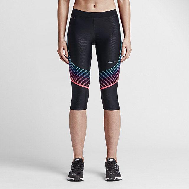 new styles cheap sale amazing selection Nike Power Speed Women's Running Capris. Nike.com ...