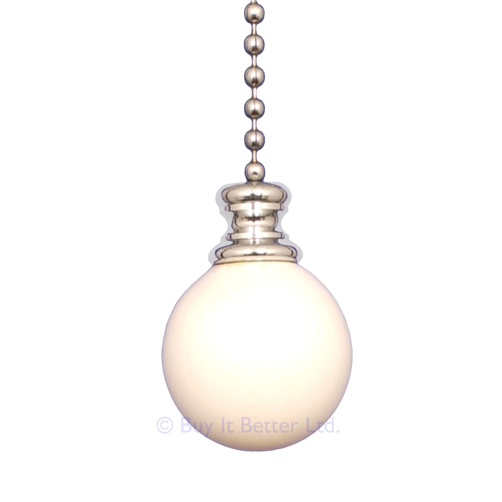 Elektek Light Pull Chain Ball With 80cm Matching Chain Light Pull Light Pull Chain