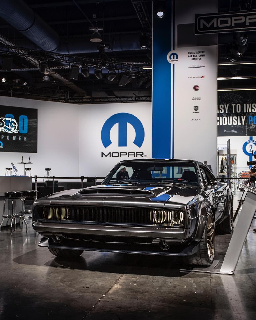 This One Of A Kind 1968 Dodgeofficial Super Charger Concept Is