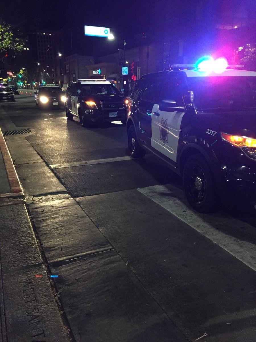 San Jose Police Remain At Walgreens On Santa Clara After Alleged Robber Shot By Security Guard Kron4news Police Explore California Santa Clara