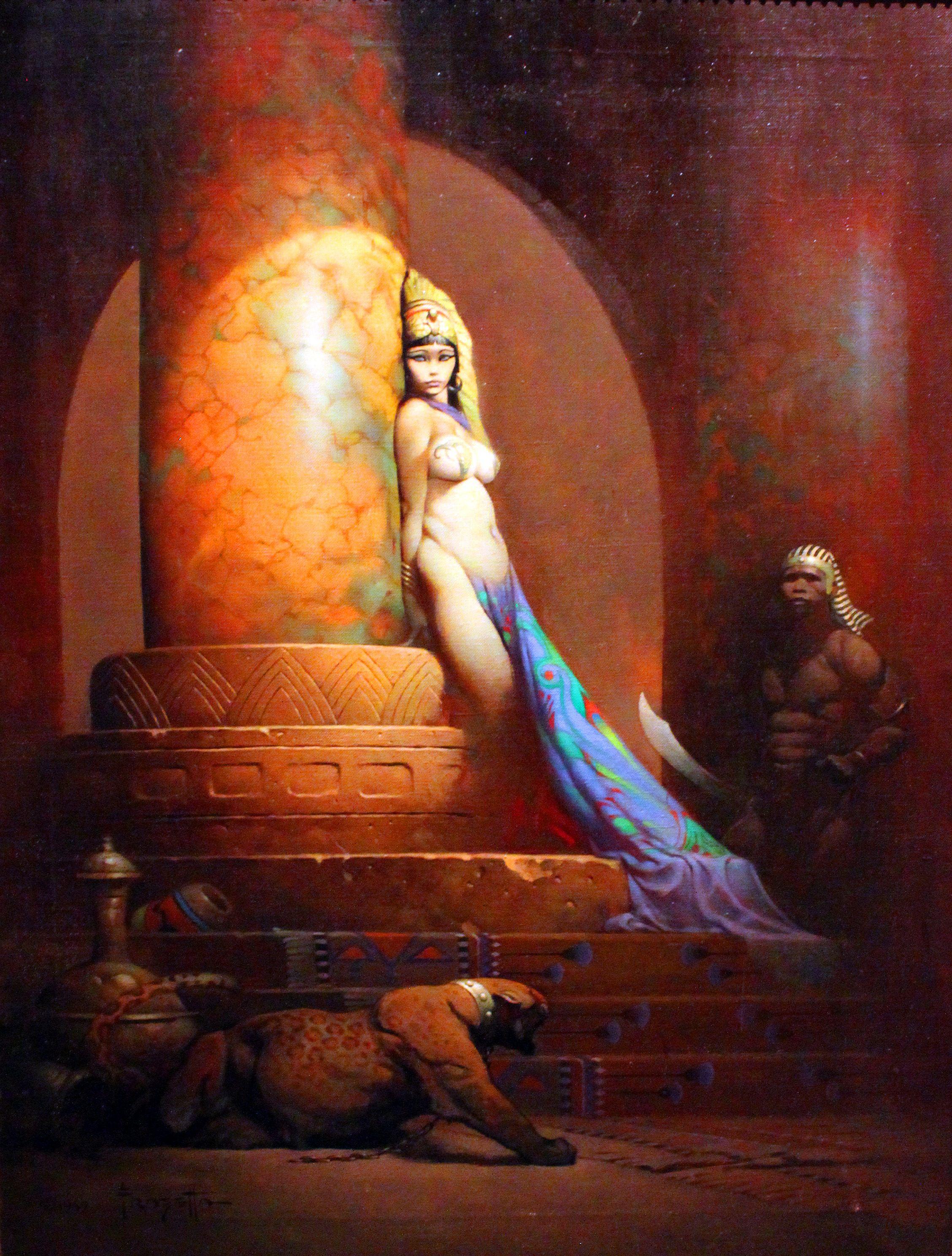 Fantasy Art Oil Paintings
