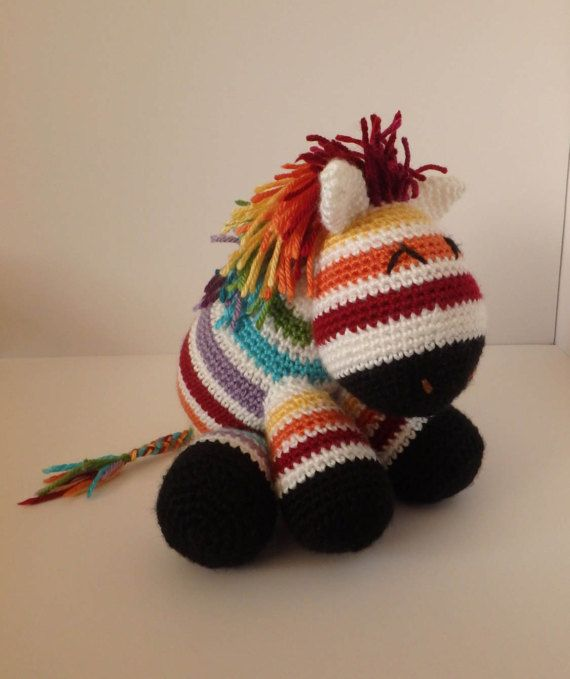 Rainbow Zebra Plush | Pinterest | Cebra del arco iris, Cebras y Arco ...