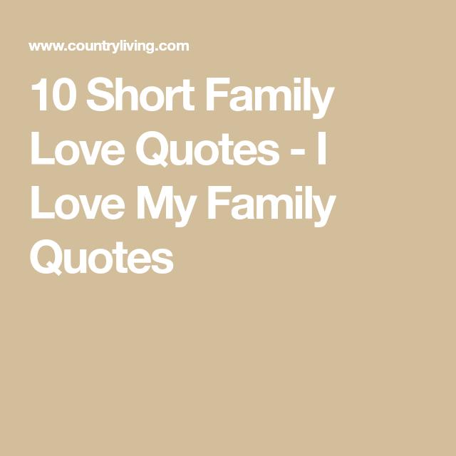 Short Family Love Quotes | Quotes - mystiekevrouwen