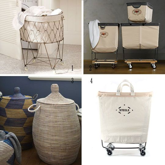 Laundry Day Helpers Stylish Hampers Carts Laundry Hamper