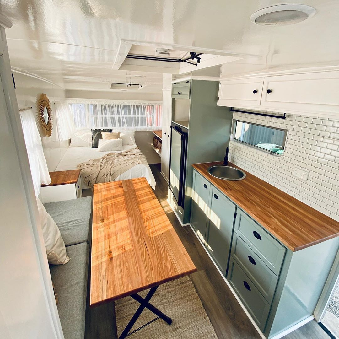 Photo of Caravan Kitchen Renovations | Caravan Renovation Series