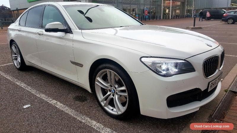 Car For Sale Bmw 7 Series 63 Plate 730d M Sport White With Images