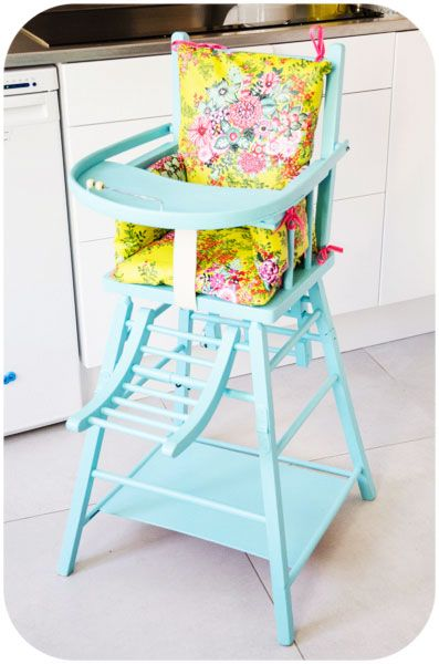 La Chaise Haute De Choubidou Chaise Haute Chaise Haute Poupee