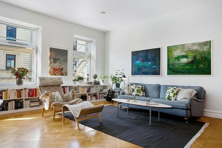 Decorar paredes con estilo cincuenta ejemplos Pinterest