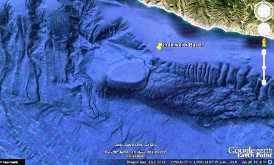 underwater base california | ALIEN INVASION
