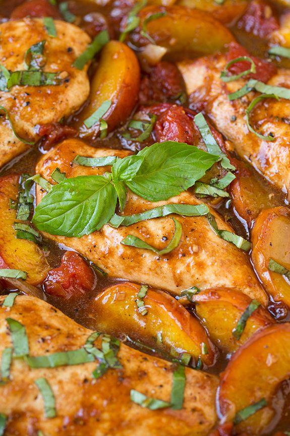 recipe: easy peach chicken recipe [3]