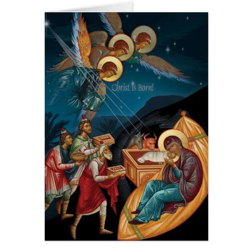 Orthodox christmas cards 2017 christmas greeting card trends orthodox christmas cards card ideasgreeting cardssunday schoolserbian m4hsunfo