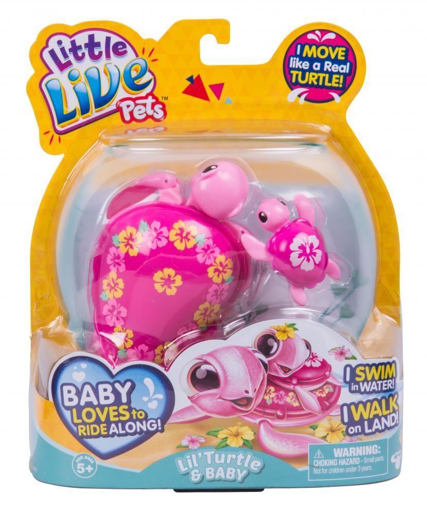 #Lil #turtle Little Live Pets Turtle S5 Single Pack ...