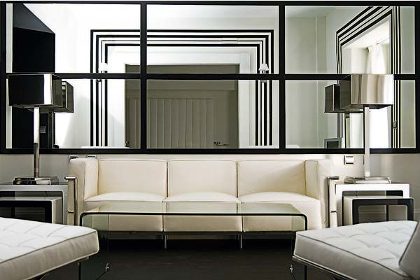 Reflection Of Style : Guide To Decorating With Mirrors | Mirror Panels,  Decorating And Workout Rooms