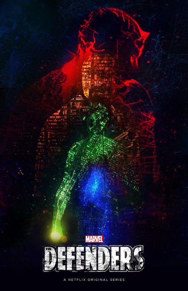 Marvel Comics Netflix TV Show The Defenders