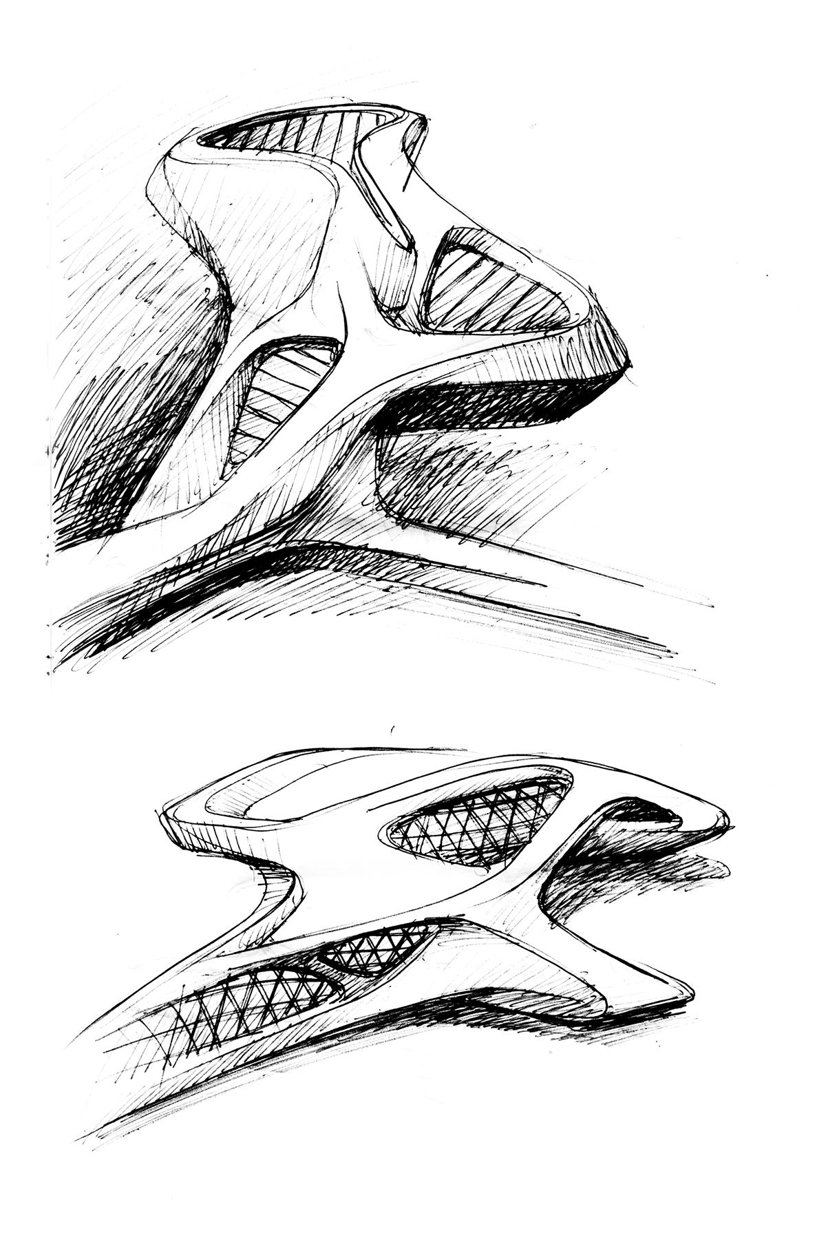 Sketches Of Ideas On Behance