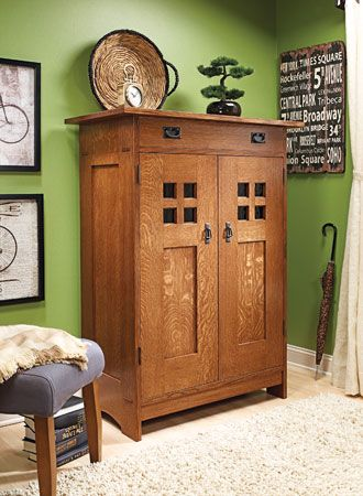 Gentleman's Dresser from Woodsmith Plans | Cabinets & Consoles in