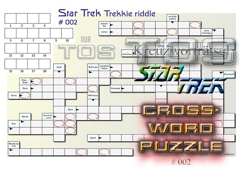 Vers Kreuzworträtsel
