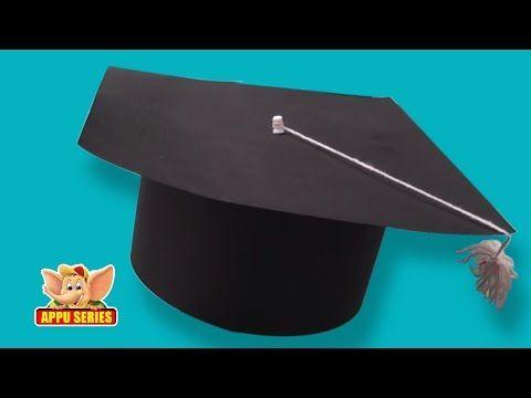 Learn To Make A Graduation Cap Arts Crafts Diy Graduation Cap Graduation Cap Kindergarten Graduation Cap