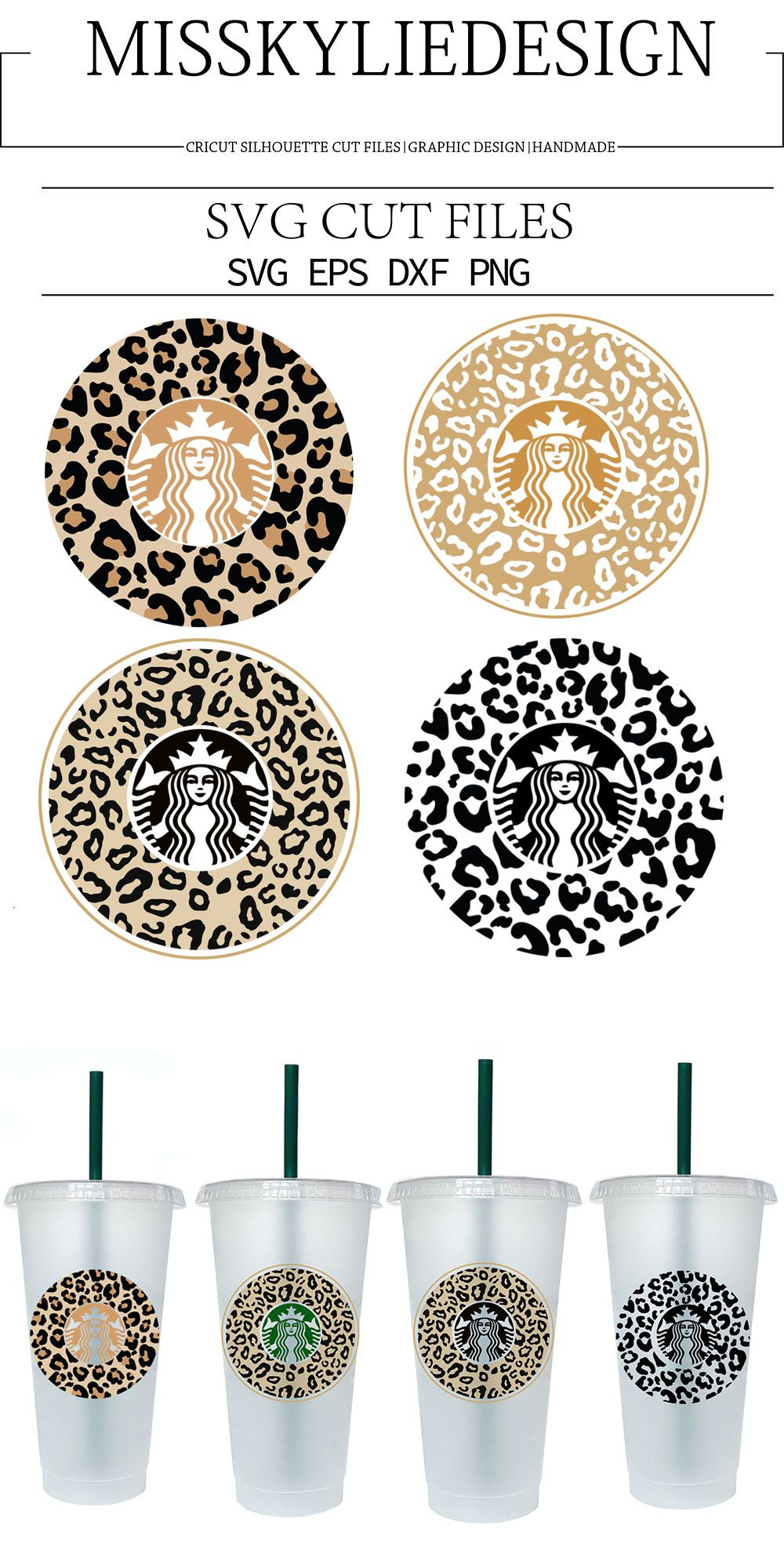 Leopard Svg,Cheetah Svg files For Cricut Silhouette Files