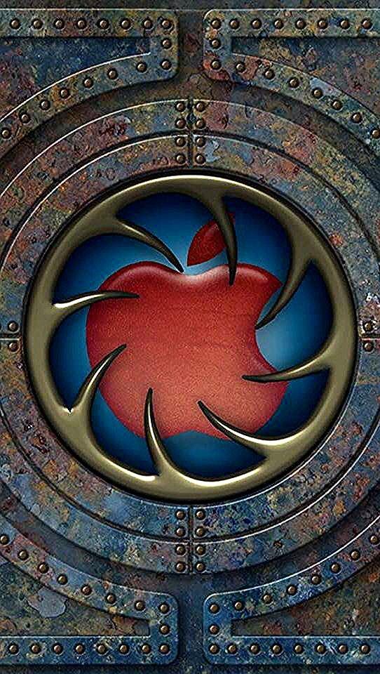 Fonds D'écran Plain in 2020 Apple logo wallpaper, Apple
