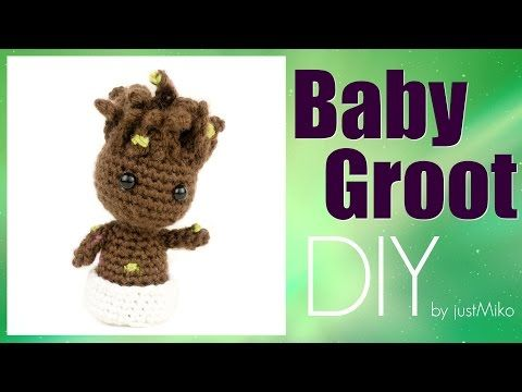 Baby Groot Häkeln Do It Yourself Amigurumi Marvel Youtube