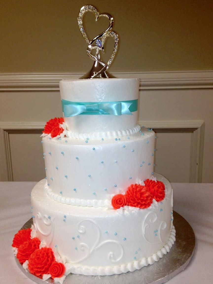 Calumet Bakery Wedding Cake 30