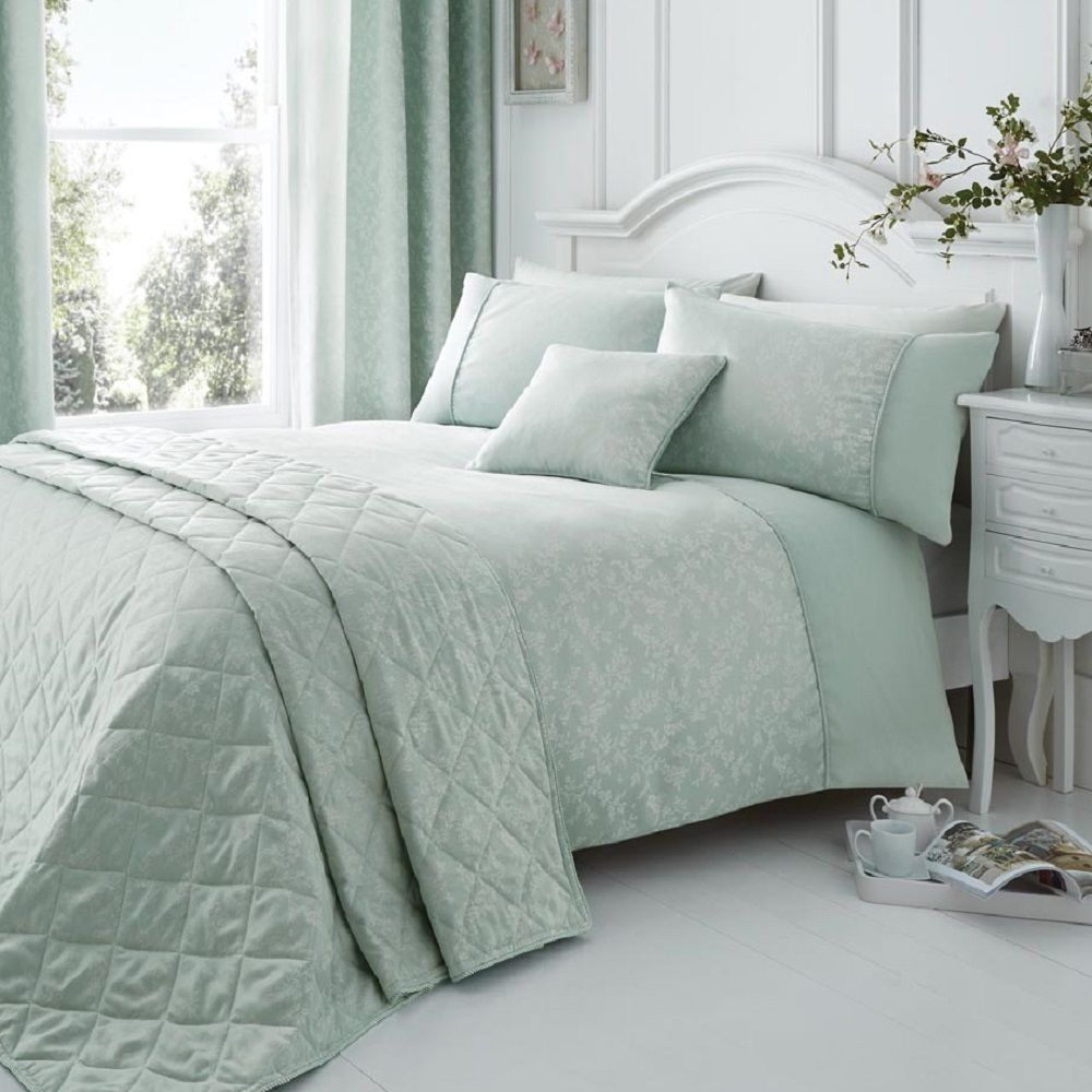 Elegant Fl Jacquard Cotton Rich Cream Pink Quilt Duvet Cover Bedding Set Ebay