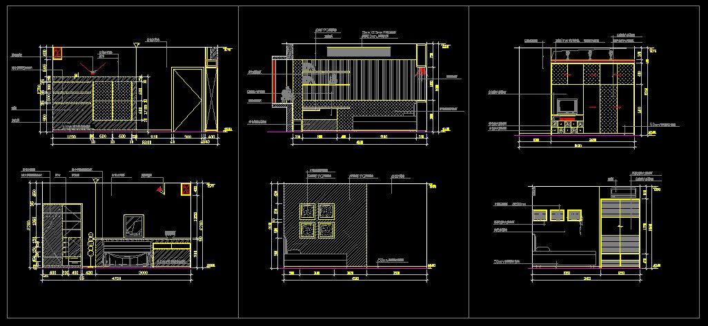 Children 39 S Room Design Template Cad Library Autocad