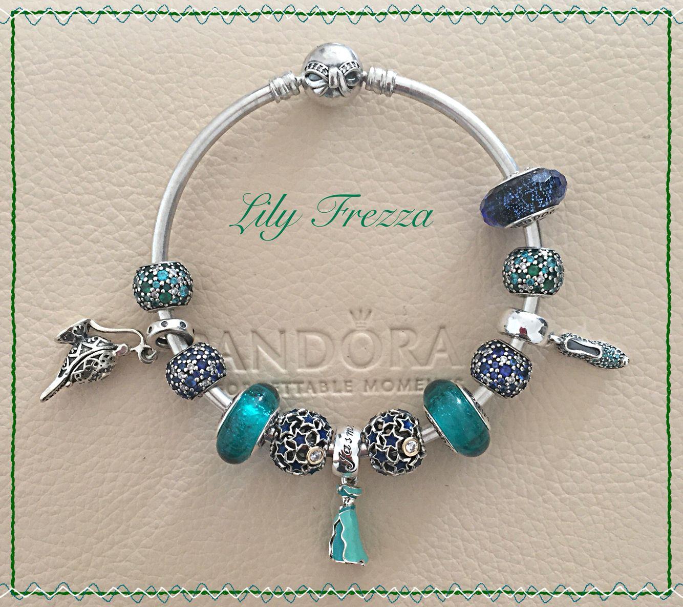 Jasmine Disney Pandora | Pandora bracelet designs, Pandora ...