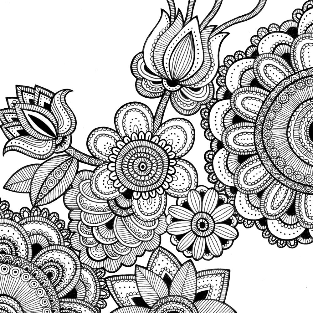Printable Coloring Pages Intricate Designs | Bgcentrum