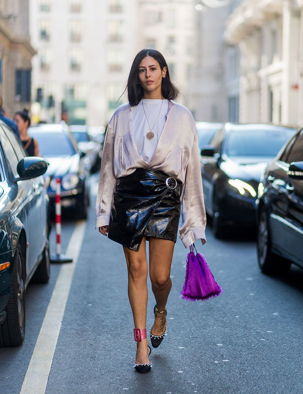 Hottest streetstyle Milan Fashion Week SS2018 (Photo Gallery