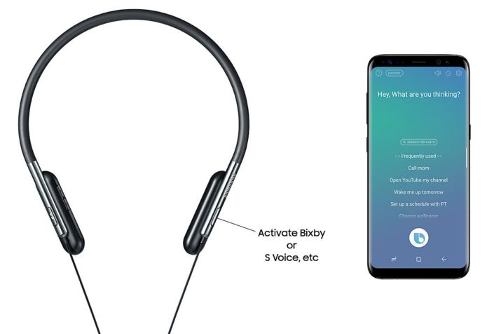 Samsung Launches A Pair Of Wireless Headphones With Bixby Functionality Phablet Headphones Samsung